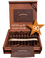 Shop Now Kristoff Ligero Maduro Churchill Cigars - Maduro Box of 20 --> Singles at $9.00, 5 Packs at $38.99, Boxes at $160.99