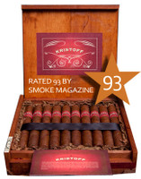 Shop Now Kristoff Sumatra Torpedo Cigars - Natural Box of 20 --> Singles at $8.95, 5 Packs at $38.99, Boxes at $158.99