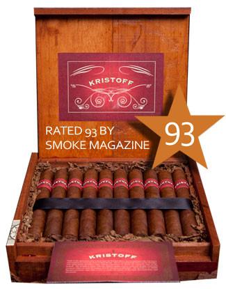 Shop Now Kristoff Sumatra Corona Cigars - Natural Box of 20 --> Singles at $7.25, 5 Packs at $31.99, Boxes at $128.99