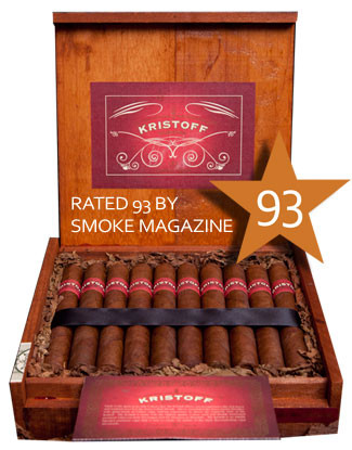 Shop Now Kristoff Sumatra Lancero Cigars - Natural Box of 20 --> Singles at $8.50, 5 Packs at $36.99, Boxes at $150.99