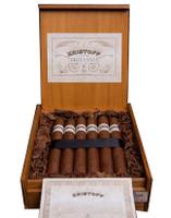 Shop Now Kristoff Brittania Reserva Torpedo Cigars - Natural Box of 20 --> Singles at $8.50, 5 Packs at $36.99, Boxes at $150.99