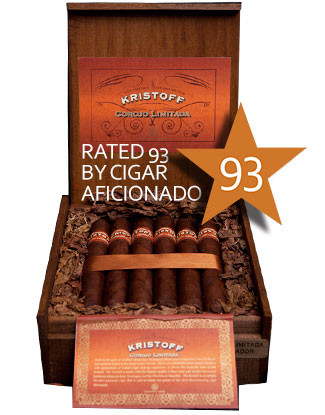 Shop Now Kristoff Corojo Limitada Churchill Cigars - Natural Box of 20 --> Singles at $9.10, 5 Packs at $39.99, Boxes at $160.99