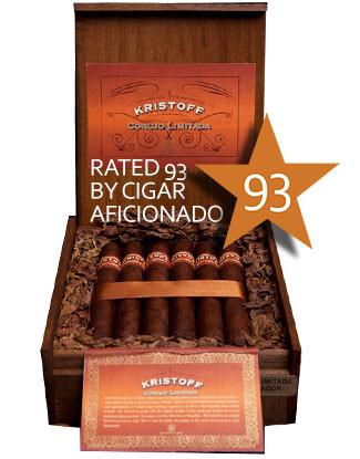 Shop Now Kristoff Corojo Limitada Churchill Cigars - Natural Box of 20 --> Singles at $9.10, 5 Packs at $39.99, Boxes at $160.99