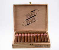 Shop Now Fratello Boxer Box Pressed Cigars - Natural Box of 20 --> Singles at $9.00, 5 Packs at $41.99, Boxes at $160.99
