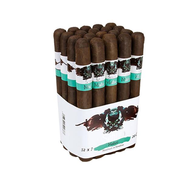 Asylum Schizo Double Toro Cigars - Maduro Bundle of 20