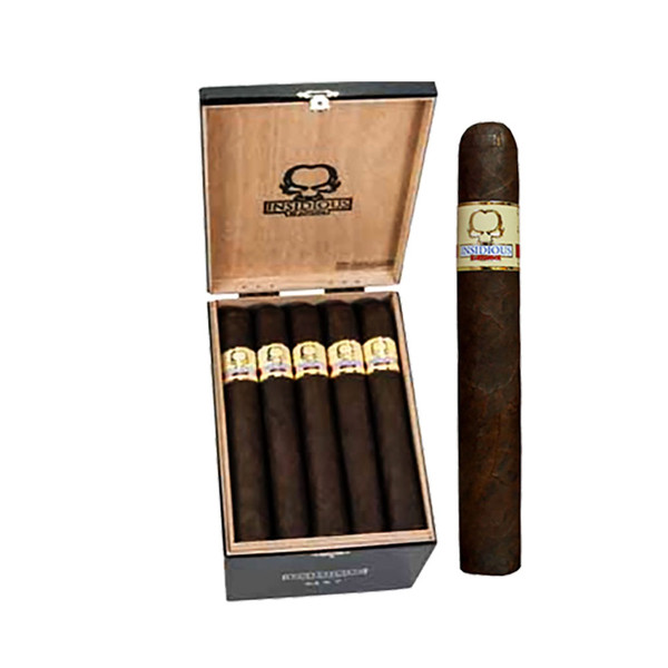 Asylum Insidious Robusto Cigars - Maduro Box of 25