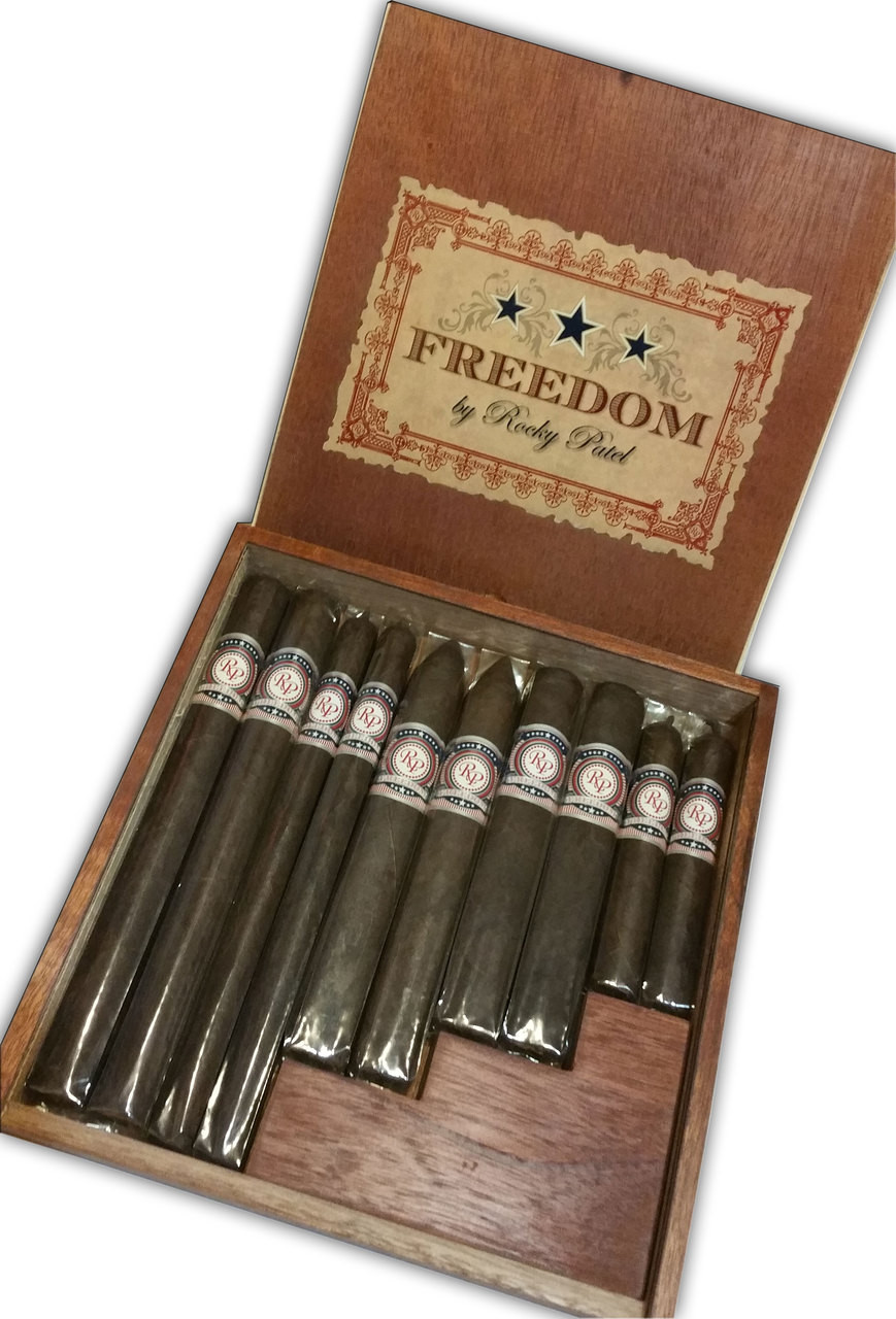Rocky Patel Freedom Cigars - Sampler of 10