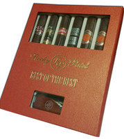 Rocky Patel Best of Best Cigars and Lighter - Sampler of 6