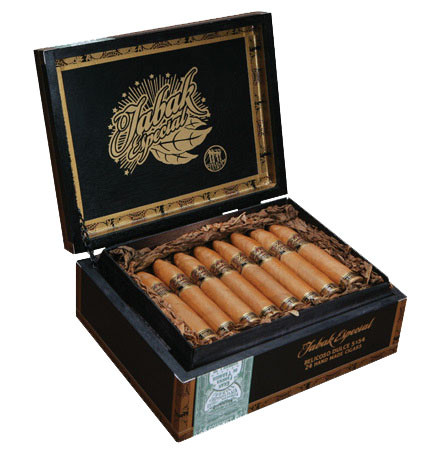Shop Now Tabak Especial Belicoso Dulce Cigars - Natural Box of 24 --> Singles at $8.88, 5 Packs at $34.50, Boxes at $149.5