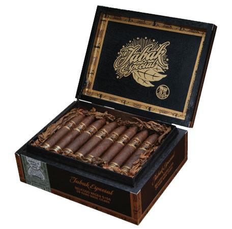 Shop Now Tabak Especial Colada Negra Cigars - Dark Box of 40 --> Singles at $9.56, 5 Packs at $22.50, Boxes at $161.5