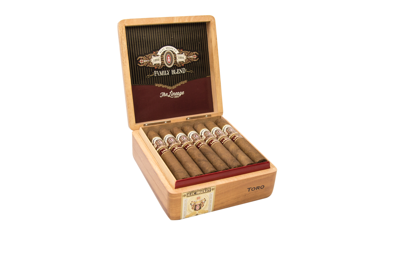 Alec Bradley Lineage 1996 Toro Cigars - Natural Box of 20