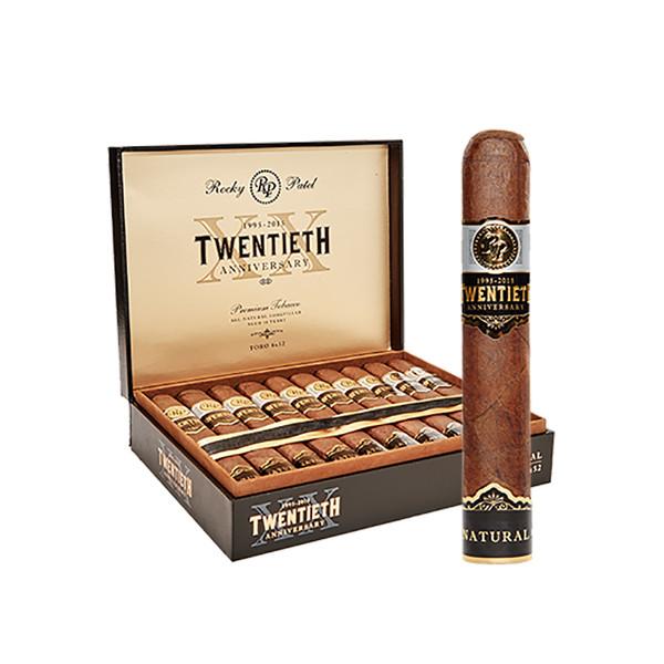 Rocky Patel Twentieth Anniversary Toro Cigars - Box of 20