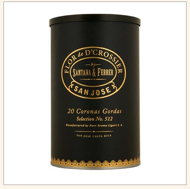 Flor de D'Crossier Selection 512 Coronas Gordas Cigars - Jar of 20