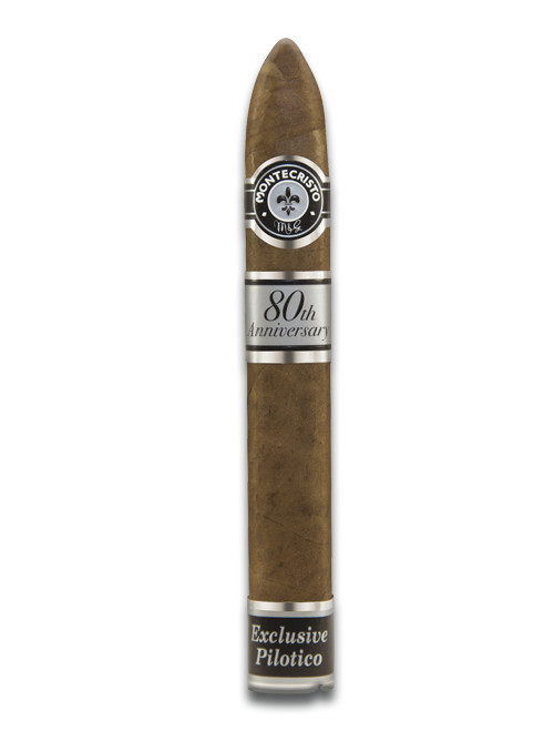 Montecristo 80th Anniversary Belicoso #2 Single - Natural Box of 12