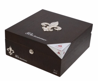 Montecristo 80th Anniversary Belicoso #2 Closed - Natural Box of 12