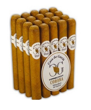 Casa de Garcia Petite Corona Cigars - Connecticut Bundles of 30