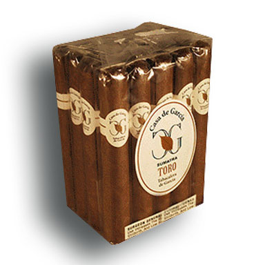 Casa de Garcia Sumatra Toro Cigars - Natural Bundle of 20
