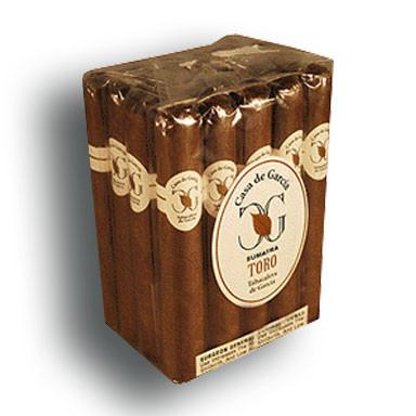 Casa de Garcia Sumatra Toro Cigars - Natural Bundle of 20