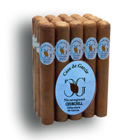 Casa de Garcia Nicaraguan Churchill Cigars - Natural Bundle of 20