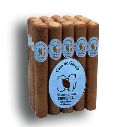 Casa de Garcia Nicaraguan Colossal Cigars - Natural Bundle of 10