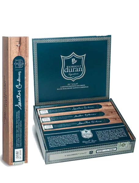Roberto P Duran Premium Salomon Cigars - Habano Colorado Box of 5