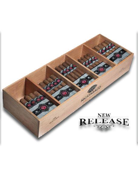 Nicatabco Factory Blend No 2 Robusto Cigars - Bundle of 20