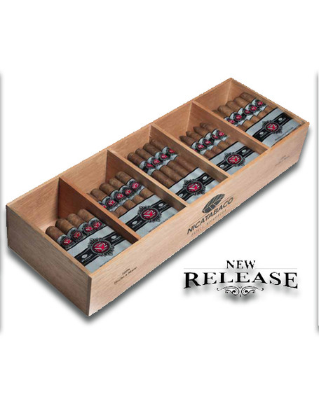 Nicatabco Factory Blend No 2 Toro de Luxe Cigars - Bundle of 20