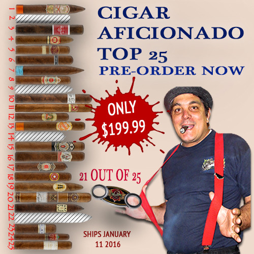 Pre-Order Now 25 Best Cigars of 2015 - Cigar Aficionado - 21 out of 25