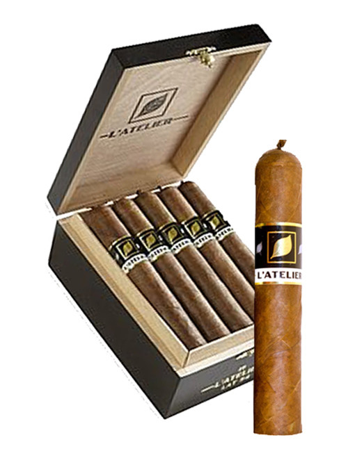 L'Atelier LAT52 Robusto Cigars - Natural Box of 15