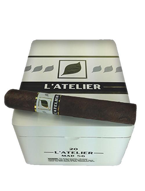 L'Atelier Maduro MAD44 Corona Cigars - Natural Box of 20