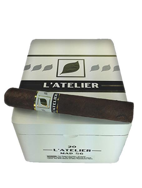 L'Atelier Maduro MAD56 Gordo Cigars - Natural Box of 20