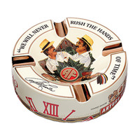 Arturo Fuente Journey Through Time Ashtray Cream - Holds 4 Cigars