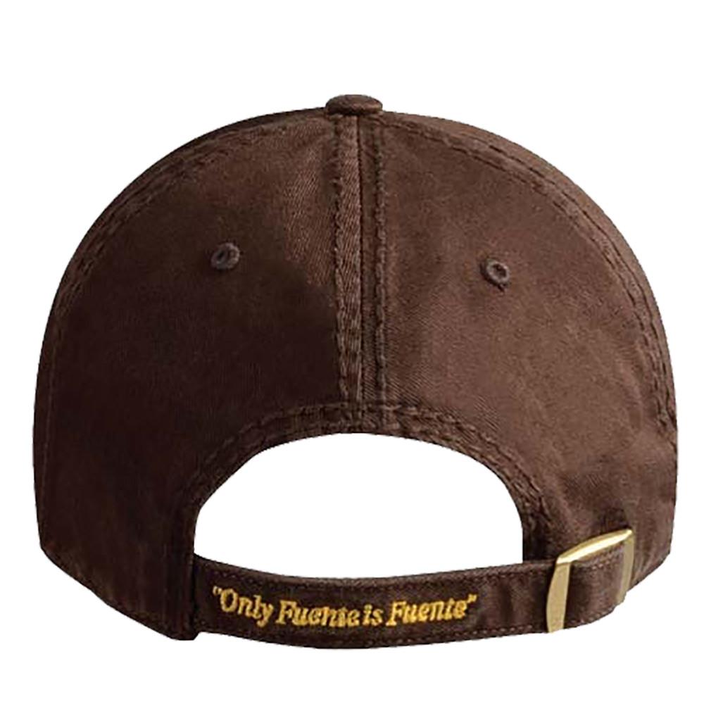 Arturo Fuente AF Opus X Logo Baseball Hat - Gold and Brown BACK