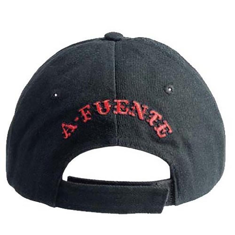 Arturo Fuente AF Opus X Logo Baseball Hat - Red and Black BACK