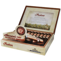 Indian Motorcycle Robusto Cigars - Maduro Box of 20
