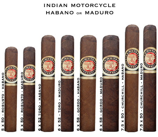 Indian Motorcycle Cigars