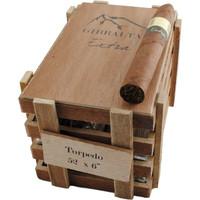 Caldwell Iberian Express Gibraltar Extra Torpedo Cigars - Natural Box of 25