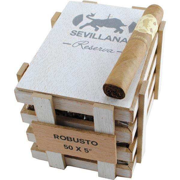Caldwell Iberian Express Sevillana Reserva Robusto Cigars - Natural Box of 25