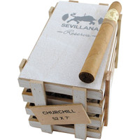 Caldwell Iberian Express Sevillana Reserva Churchill Cigars - Natural Box of 25