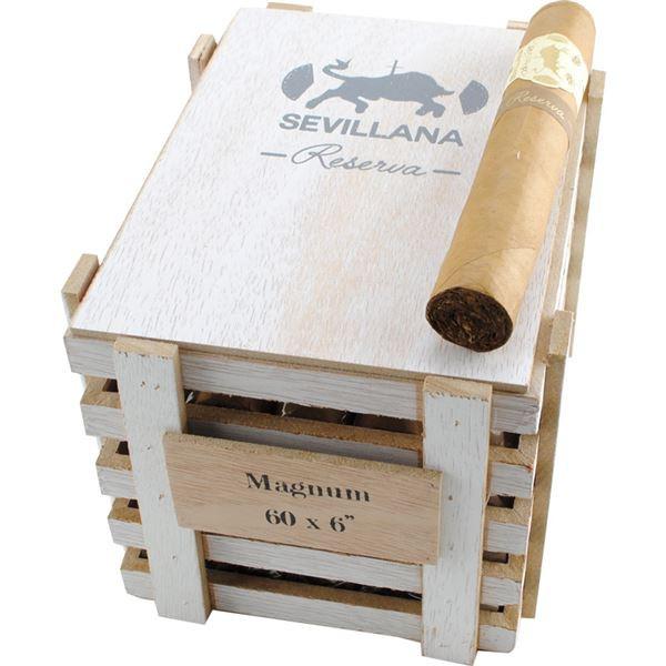 Caldwell Iberian Express Sevillana Reserva Magnum Cigars - Natural Box of 25