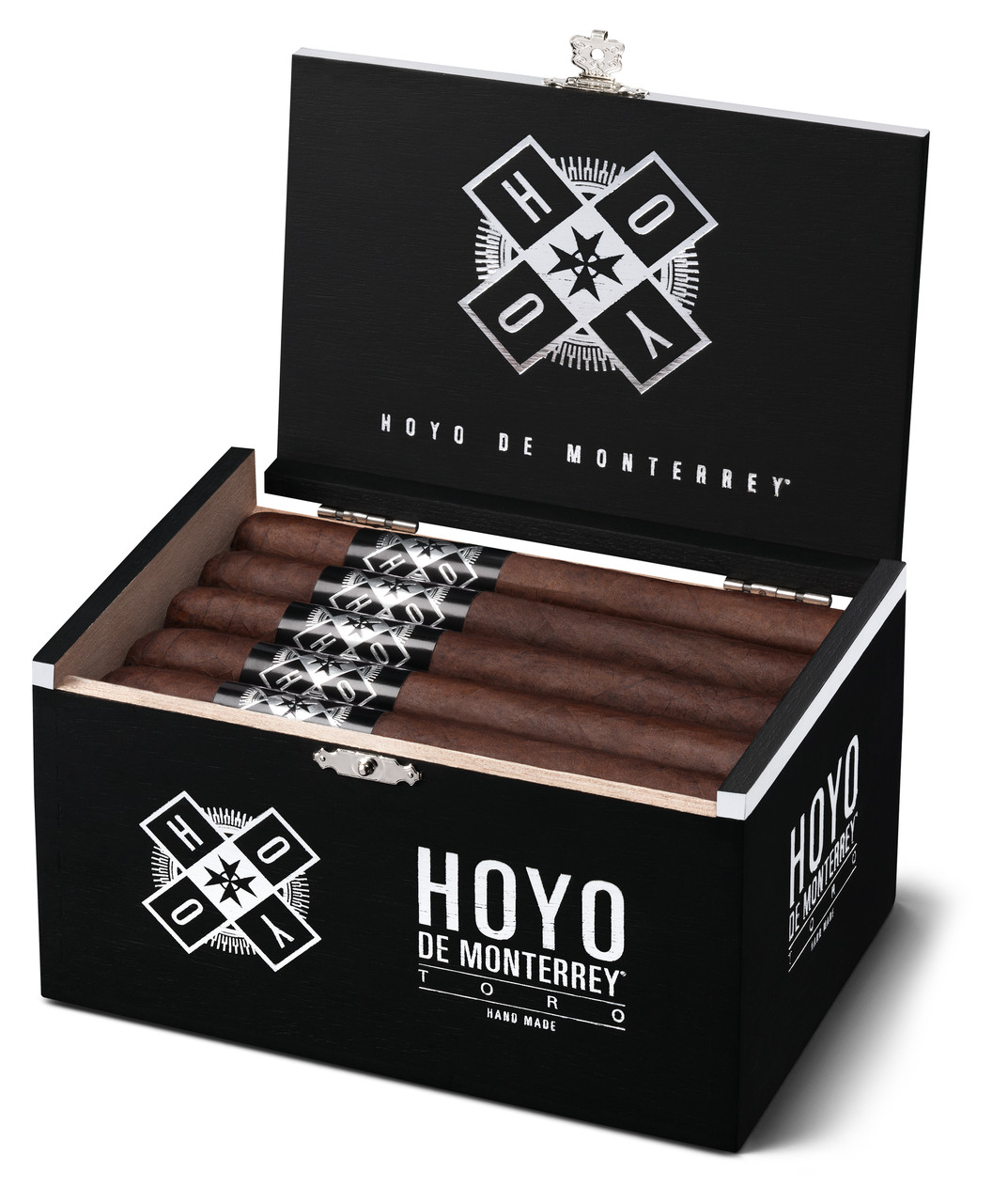Hoyo Black Robusto Cigars - Dark Box of 20
