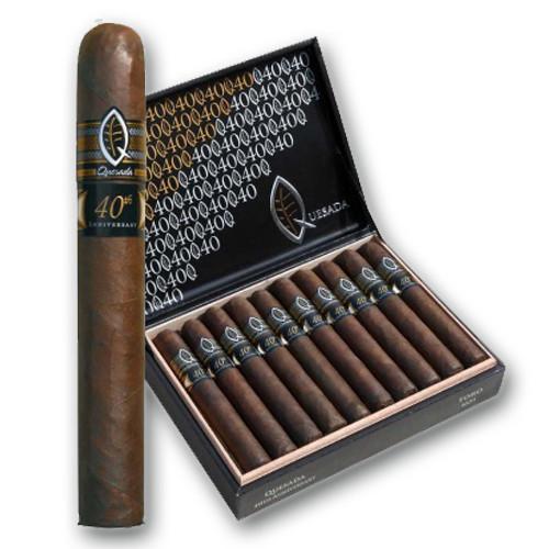 Quesada 40th Anniversary Robusto Cigars - Maduro Box of 20