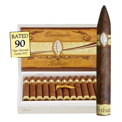 Quesada Tributo Manolin Cigars - Dark Natural Box of 24