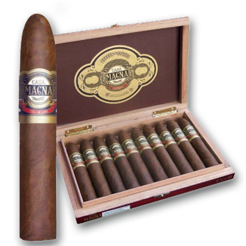 Casa Magna Colorado by Quesada Gigantor Cigars - Natural Box of 50