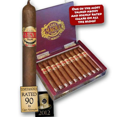 Casa Magna Domus Magnus II by Quesada Tiberius Eclipse Cigars - Natural Box of 10