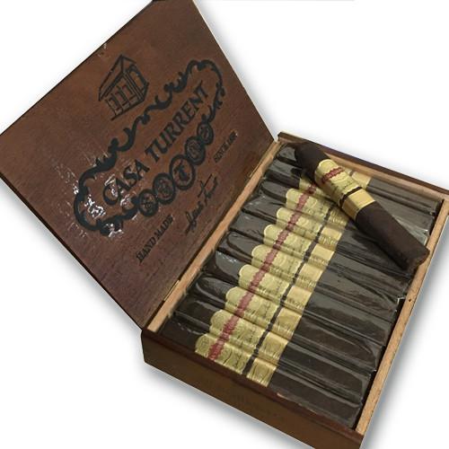 Casa Turrent Serie 1901 Robusto Cigars - Maduro Box of 20
