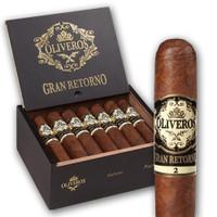 Oliveros Gran Retorno Habano Banjo Cigars - Natural Box of 20