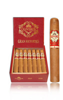 Oliveros Gran Retorno Connecticut Fiddle Cigars - Natural Box of 20