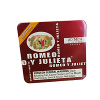 Romeo y Julieta Minis Aroma Red - Natural Pack of 100