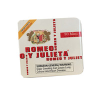 Romeo y Julieta Minis Aroma White - Natural Pack of 100